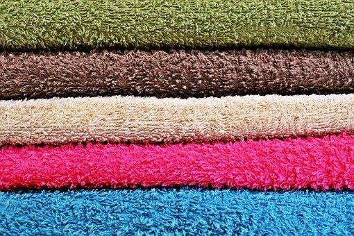 Background, Towels, Colorful, Color, Bath Towels, Dry