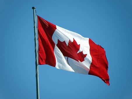 Canada, Flag, Nation, Canada Flag, Country, Symbol, Red