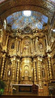 Church Of The Society Of Jesus, Quito, Ecuador