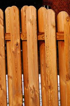 Fence, Wood Fence, Limit, Paling, Demarcation, Battens