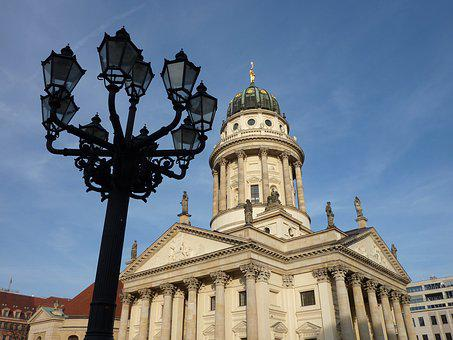Berlin, Building, Architecture, Old, Gendarmenmarkt