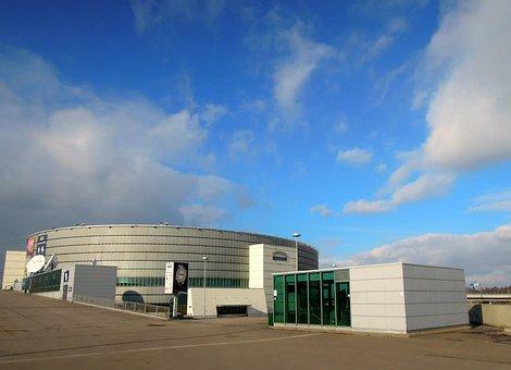 Hartwall Areena, Arena, Clouds, Sky, The Concert Hall