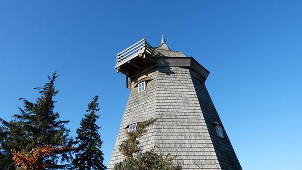 Old Mill, Hiddensee, Mill, Building, Historically