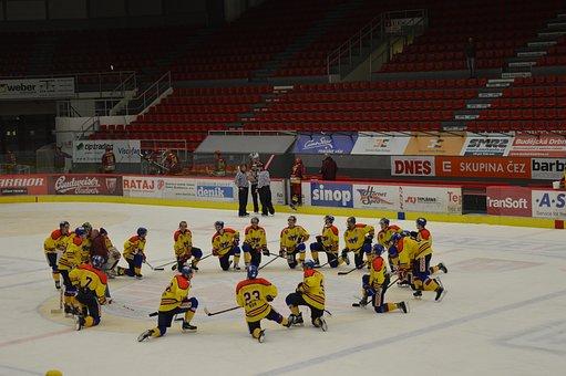 Hockey, Hockey Players, Win, Ice, Winter, Match