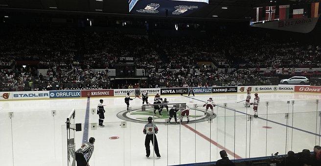 Hockey, Ice, Skates, Ice Hockey, Ice Skating