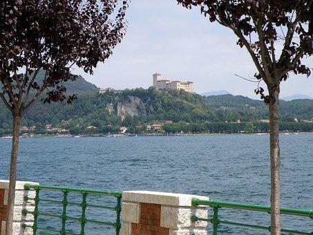 Arona, Rocca Di Angera, Lake Maggiore, Italy, Piemont