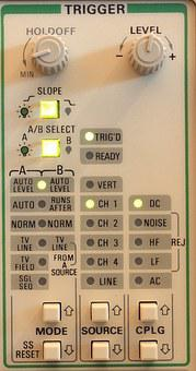 Tektronix, Scope, Oscilloscope, 2245a, Measure