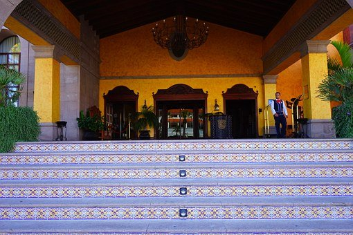 Hotel, Entrance Hall, Entrée, Stairs, Nobel, Luxury