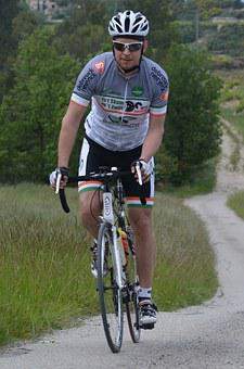 Professional Road Bicycle Racer, Sports, Effort