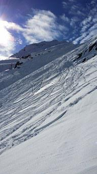 Skiing, Giggijoch, Winter Sports, Snow, Winter, Alpine