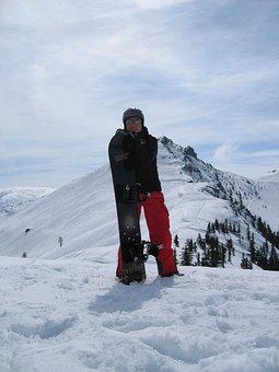 Semolina Kar Corner, Wagrain, Snowboard, Snowboarders