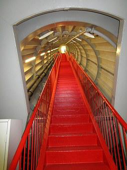 Atomium, Brussels, Stairs, Places Of Interest, Landmark