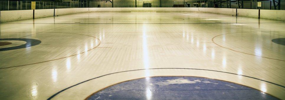 Trough, Hockey, Ring, Ice