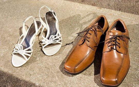Shoes, Men, Women, Boots, Sandals, Footwear, Used