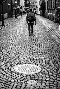 Walk, Haga, Pedestrians, Street, Walks, People