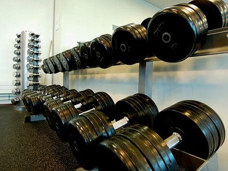 Sports, Weights, Weightlifting, In The Gym, Supervisor