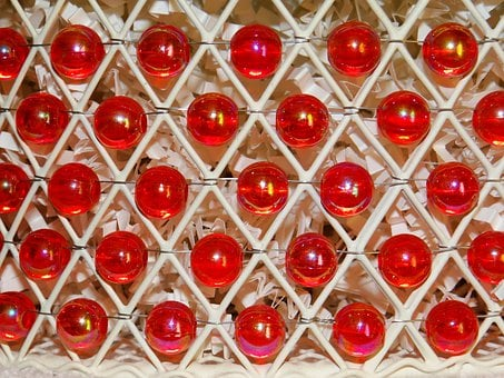 Beads, Red, Baskets, Wires, Wired, Patterns, Diamond