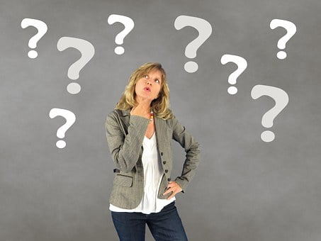 Woman, Question Mark, Person, Decision, Thoughtful
