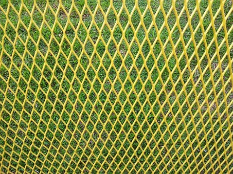 Yellow, Nets, Patterns, Designs, Diamond, Shaped