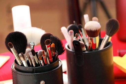 Makeup, Cosmetics, Brush, Girl, Cosmetic, Make-up