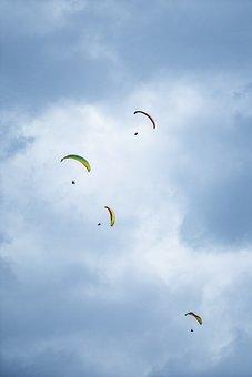Paragliding, Paraglider, Sport, Flying, Freedom, Sky
