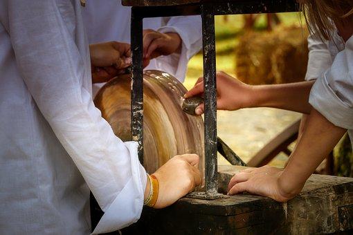 Wheel, Grinding Stone, Craft, Grinding