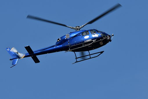 Helicopter, Aircraft, Rotor, Propeller, Transport, Sky