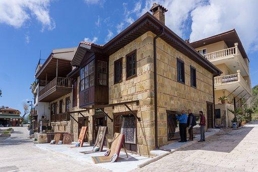 Turkey, Side, House, Historic Center, Stone