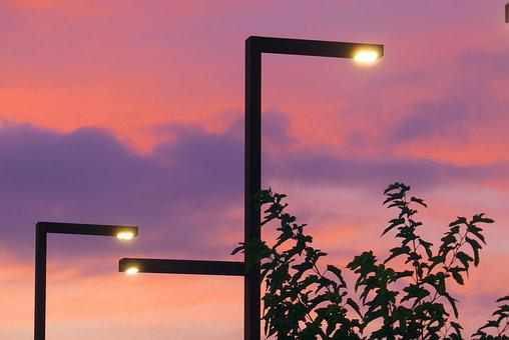 Light, Street Light, Illuminated, Mood, Atmosphere
