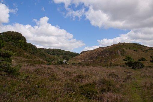 Rebild, Hills, Natural, Landscape, Outdoor, Sky, Clouds