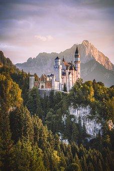 Kristin, Marie Bridge, Castle, Bavaria, Fairy Castle