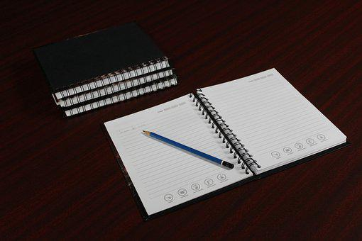 Address Book, Study, Notebook, Paper, To Write