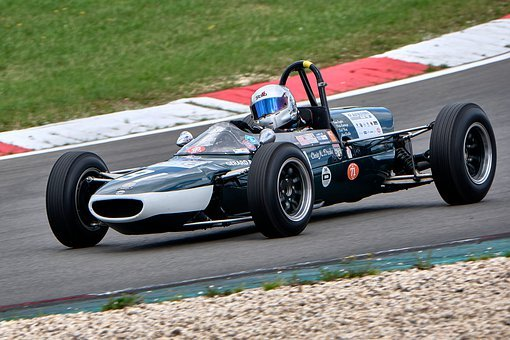 Racing Car, Formula 1, Historically, Nürburgring