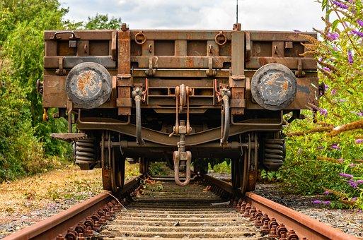 Wagon, Goods, Transport, Rails, Transport Of Goods