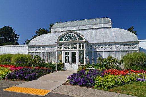 Seattle, Volunteer Park, Conservatory, Botanical