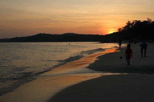 Ocean, Sea, Mood, Sunset, Nature, Atmosphere, Wave