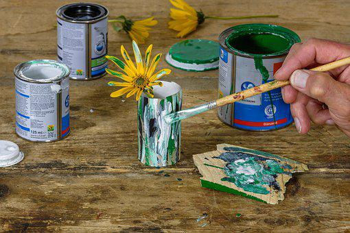 Brush, Art, Color, Creative, Hand, Finger