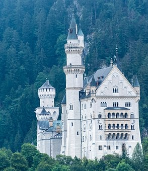 Kristin, Fairy Castle, Bavaria, Castle, Architecture