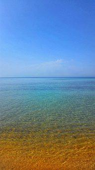 Sea, Sky, Vacations, Blue, Nature, Mediterranean, Tunis