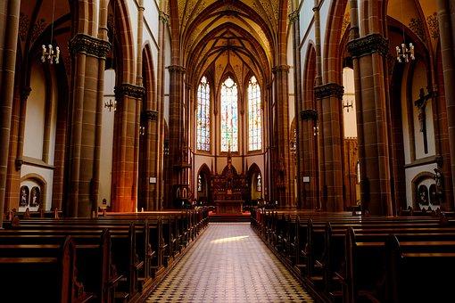 Church, Christianity, Architecture, Faith, Baroque