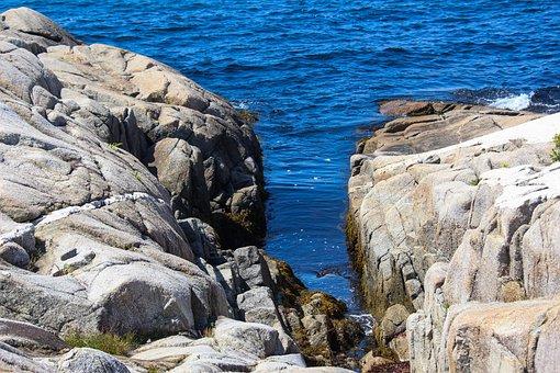 Water, Rocks, Coastal, Coast, Ocean, Waterfront, Rock