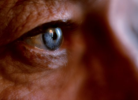 Eye, Blue, Iris, Man, Face, Skin, Eyelashes, Close Up