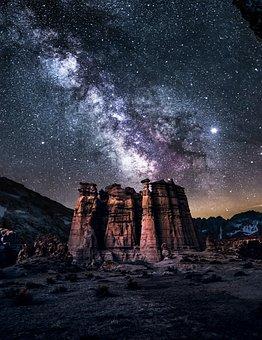 Ciel, Nature, Lune, Best Galaxy, Background