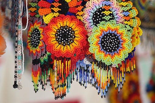 Crafts, Art, Necklace, Bracelet, Pattern, Decoration