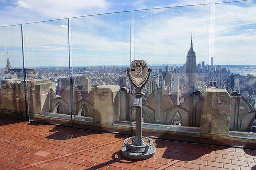 New York, Skyscraper, Empire State, Rockefeller Center