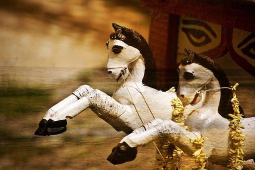 Chariot, Horses, Roman, Historic, Old, Empire