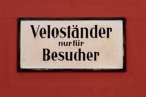 Switzerland, Shield, Prohibitory, Bicycles, Velo, Park