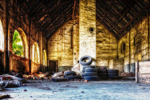 Factory, Hall, Empty, Pforphoto, Atmosphere, Industry
