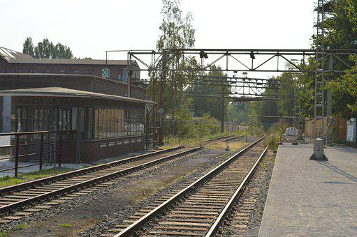 Rails, Industry, Railway, Rail, Railway Station