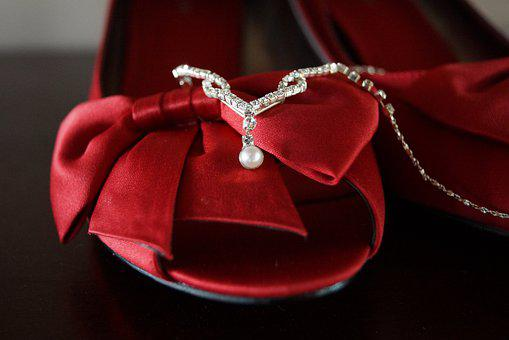 Shoes, Red Shoes, Fashion, Dress, Female, Jewelers